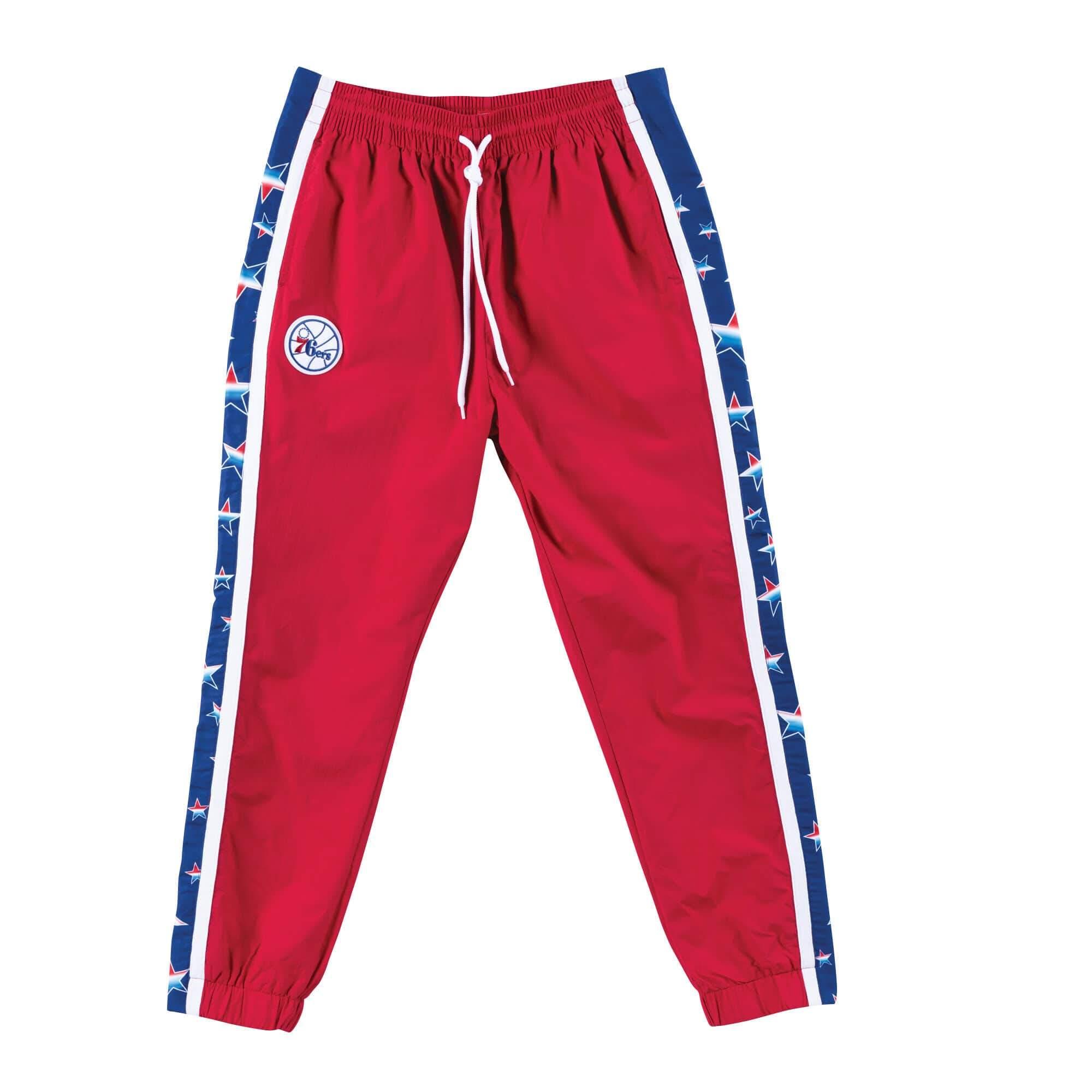 cheap jerseys blank Mitchell & Ness Philadelphia 76ers Lifestyle NBA Pro Game Tearaway Pants nba wholesale china