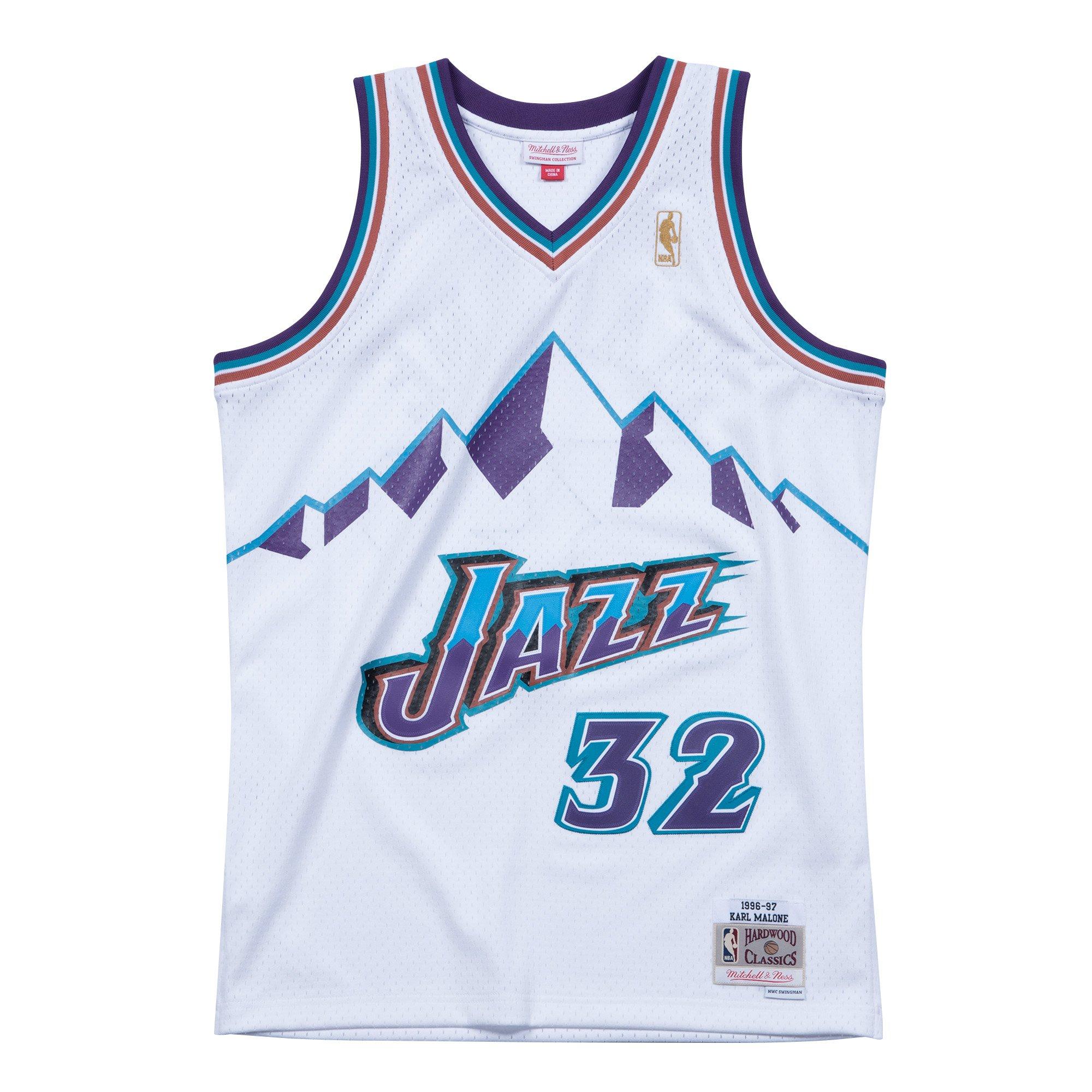 cheap nba jerseys nike Mitchell & Ness Karl Malone Utah Jazz Hardwood Classics Throwback NBA Swingman Jersey cheap wholesale authentic nba jerseys